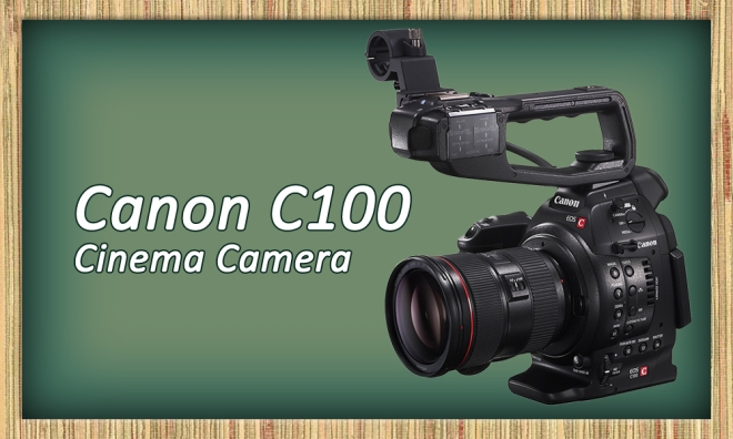 Jungle Media C100 Cinema Camera